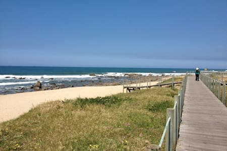 Cozy beach flat 8km from Porto - Madalena