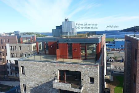 Top level apartment Bystranda Kristiansand - Apartment