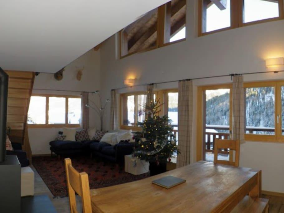 Alpine splendour winter and summer