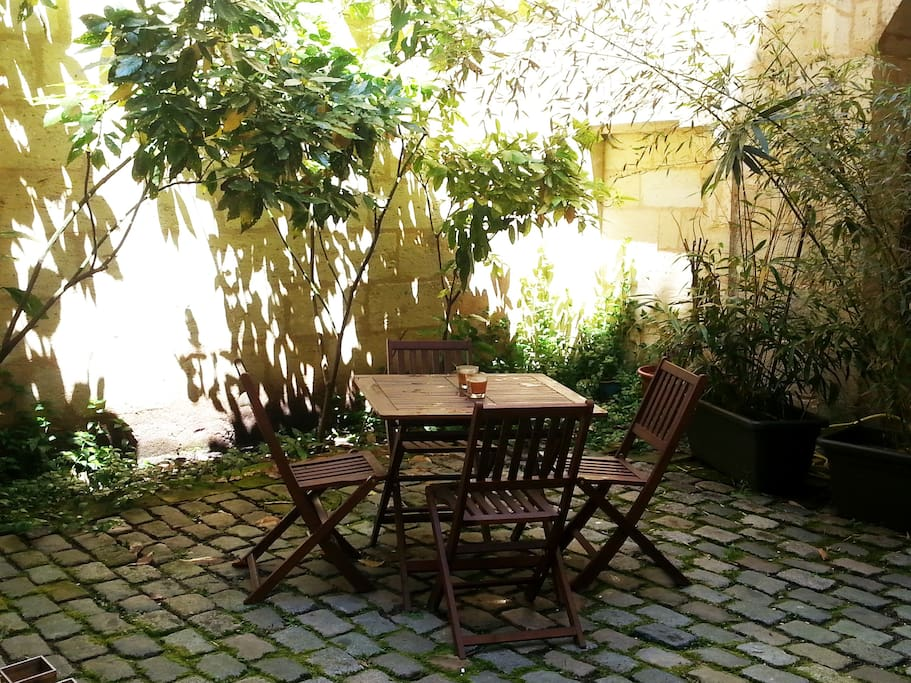 Cour Privative / Private Patio
