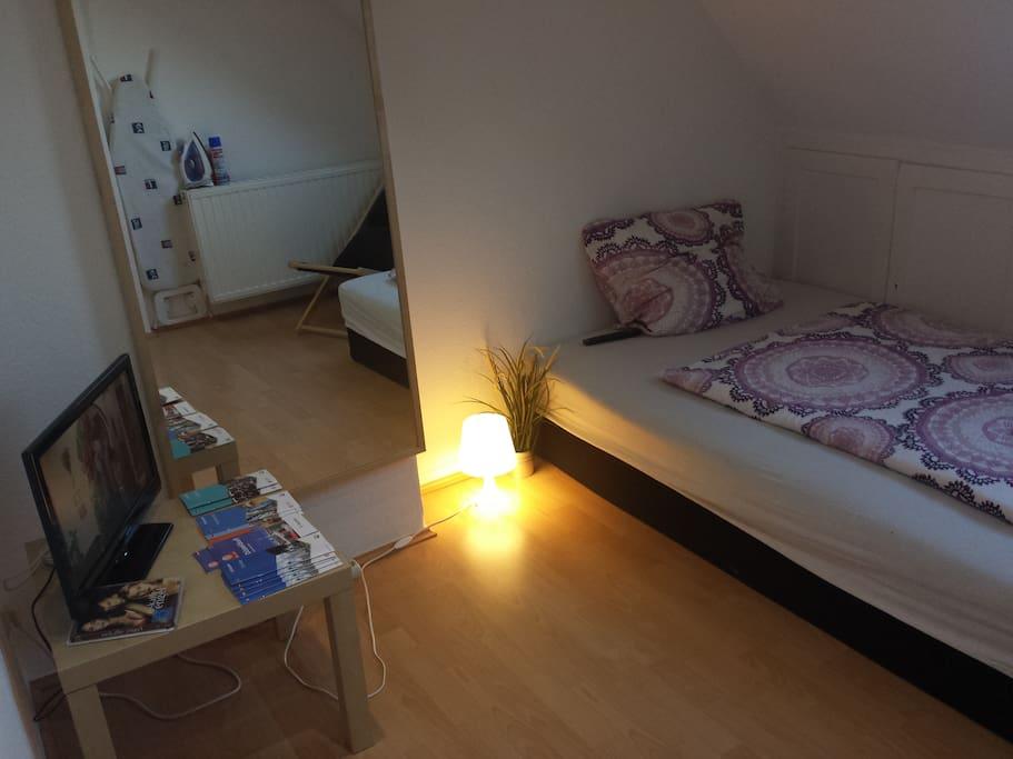 Attic room in the center of Dusseld