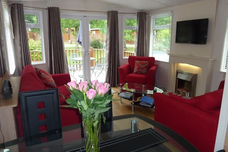 Luxury Holiday Lodge 5* - Chudleigh - Zomerhuis/Cottage