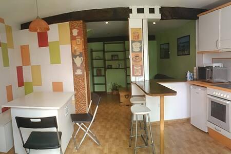 Piso con jardín - Santander - Apartamento