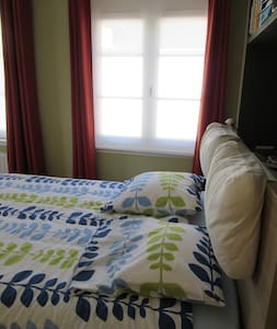 Cosy room for two in family house - Court-St.-Étienne