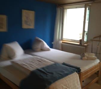 Einzel- oder Doppelzimmer mit Etage - Embrach - Bed & Breakfast