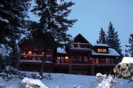 Misty Chalet Big Sky MT Yellowstone - Big Sky - Casa de campo