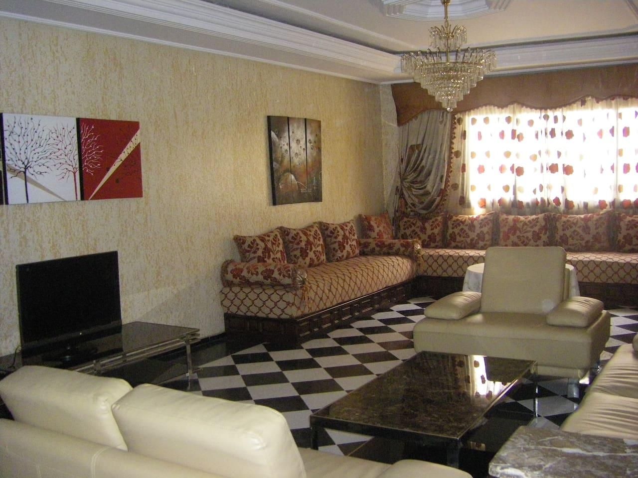 Living room Salon