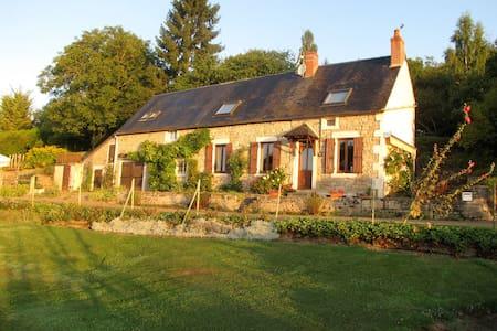 Charming Burgundy Farmhouse &Garden - House