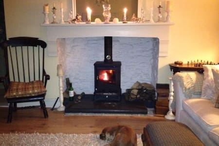 Teifi Valley View Holiday Cottage. - Llanybydder