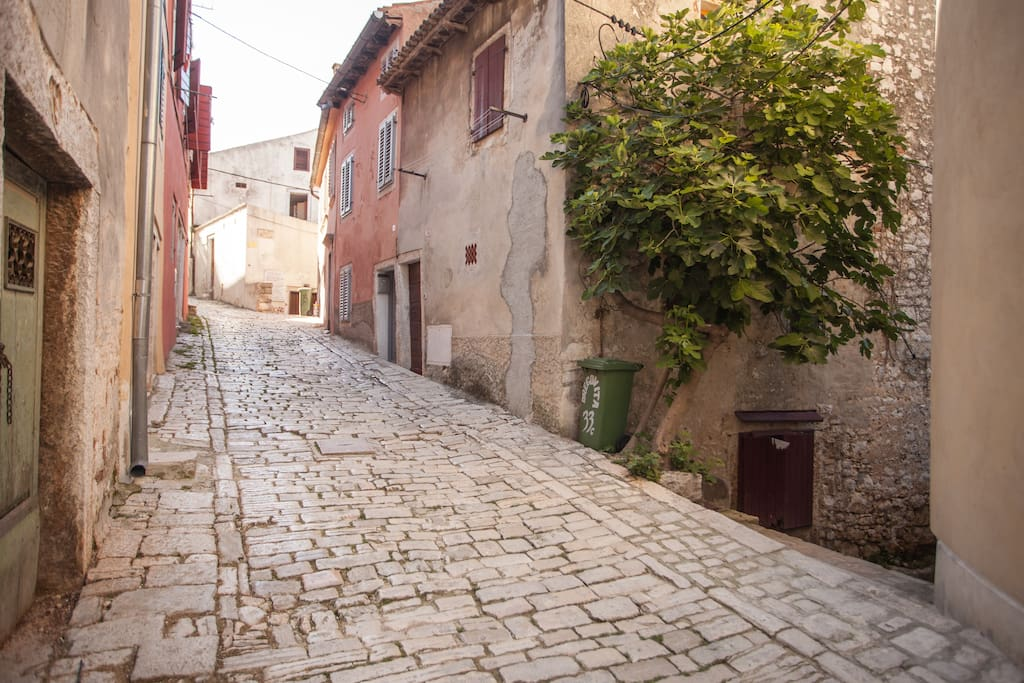Apartment in the old town of Rovinj