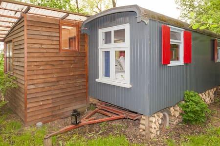Pipowagen - Blockhütte