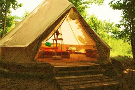 Beautiful Bell Tents in Portugal - Tent