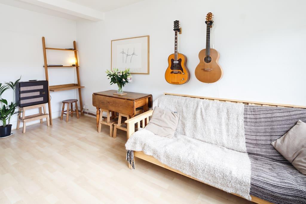 Peaceful vegan flat