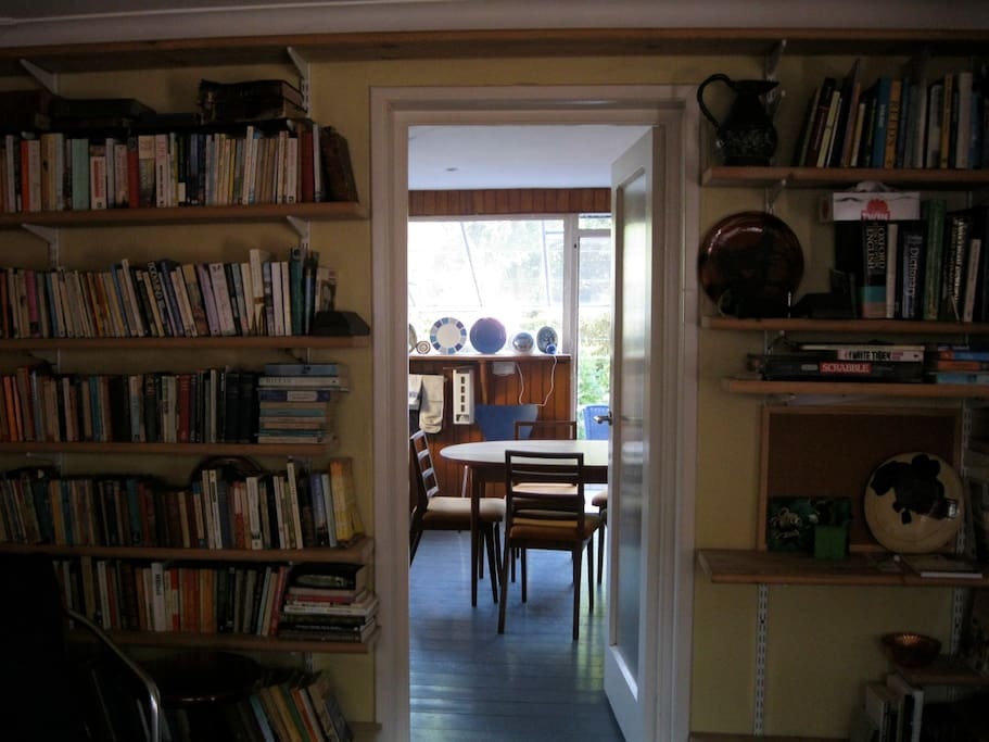 Kitchen viewed from sitting room