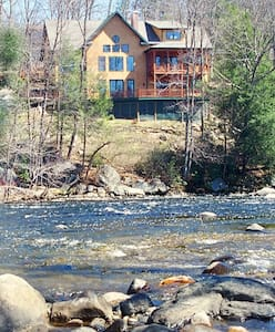 Riverside Adirondack Retreat  - House