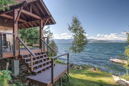 Lakefront Romantic Sandpoint Gem - House