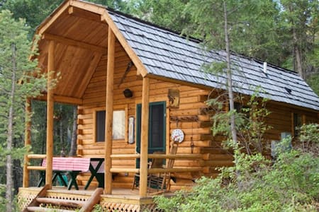 Log Cabin at Wm. Lake Salmon, ID - Salmon