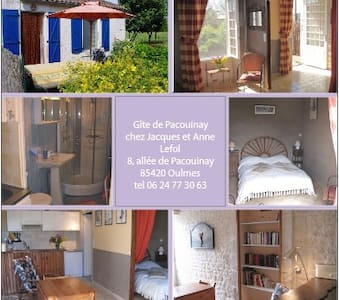 Little cottage in campaign - Oulmes - Huis