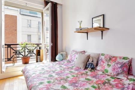 ! PARIS CENTRE !studio/ WIFI/ comfortable bed - Paris - Apartment