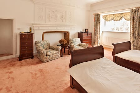 The Coral Room at Park Farm House - Cannington - Bed & Breakfast