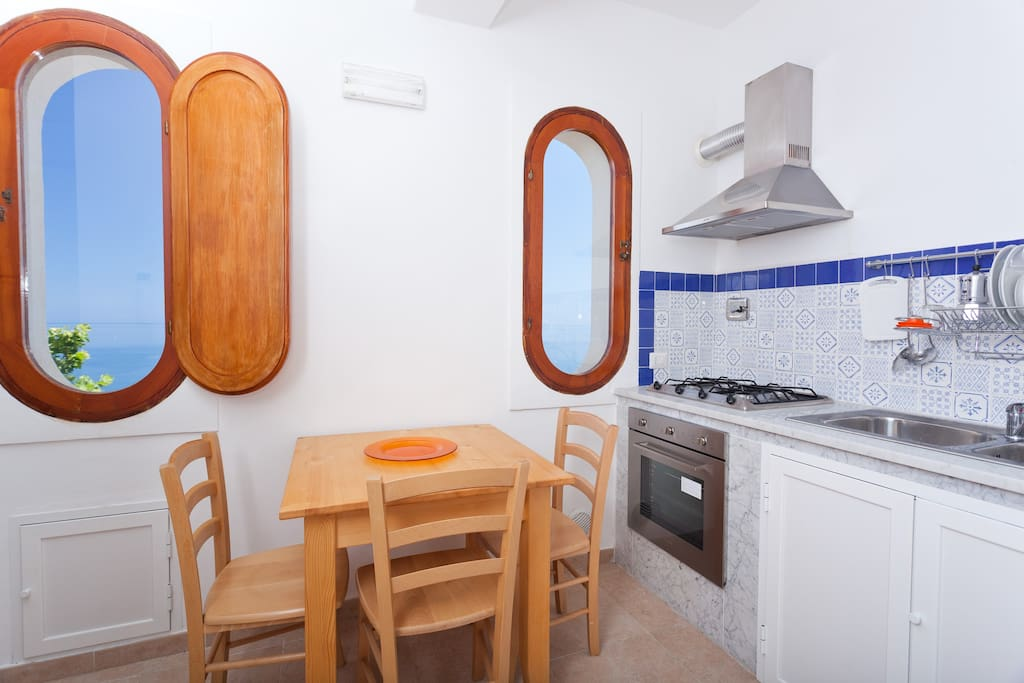 Apartment with sea view near Cefalù