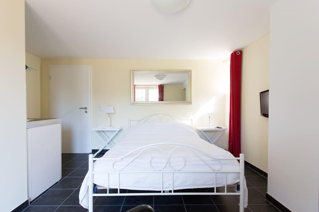 Mini-apartment in elegant villa