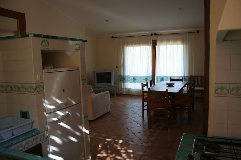 VILLA FURNISHED IN SARDINIAN STYLE