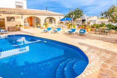 Villa Tosalet en Benissa para 6 p - Benissa