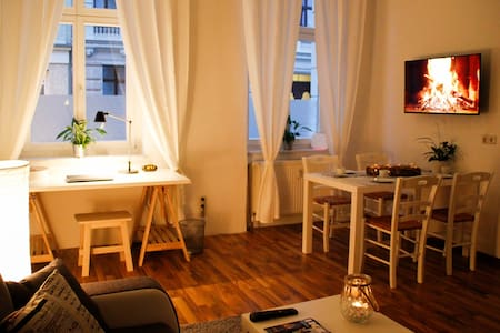 Very central apartment, cosy, downtown, modern,new - Magdeburg - Flat