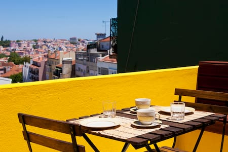 Charming rooftop in heart of Lisbon