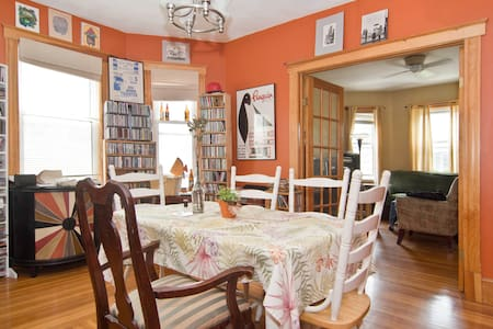 Quiet private room in N. Cambridge - Bed & Breakfast