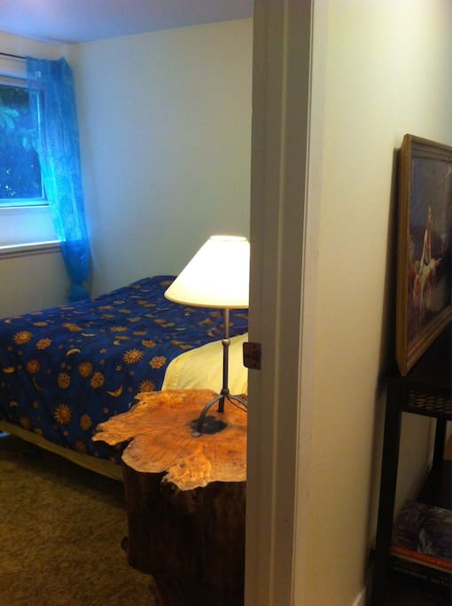 The Blue Bedroom.