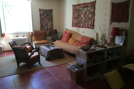Spacious, confortable flat in a quiet street - Hyères - Apartment