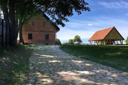 Przepięknie odrestaurowany dom siedlisko Mazury - Dům