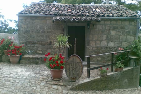 Madonie room  with fireplace - Cipampini  - Bed & Breakfast