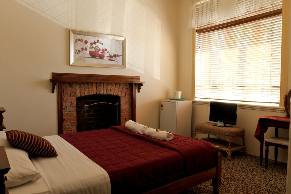One of our Queen rooms.