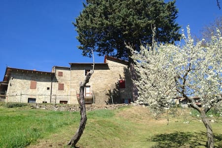 Casadino, 1714 farmhouse. - Stia