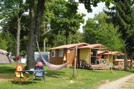 5pers chalet at camping Luxembourg - Chalet