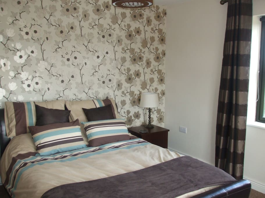 Spacious Master Bedroom with Full Ensuite