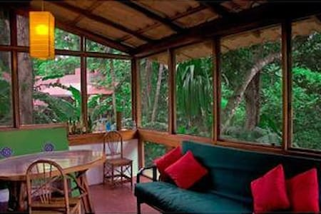 Secure and Tranquil A-Frame Bungalo