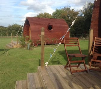 Unique luxurious glamping pods.  2 pods available. - Suffolk - Cabin