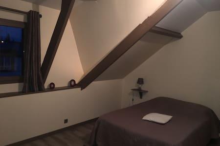 Chambre privée proche du centre de ville de Rouen - Rumah