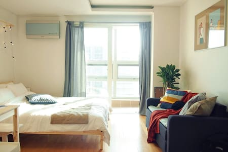 Stay Bright Apartment at the Central Seoul! - Mapo-gu - Appartement