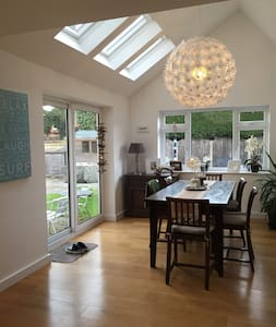 Contemporary living space - West Berkshire - House