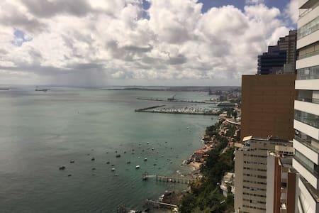 Vista panorâmica para a Baía de Todos os Santos - Salvador - Apartment