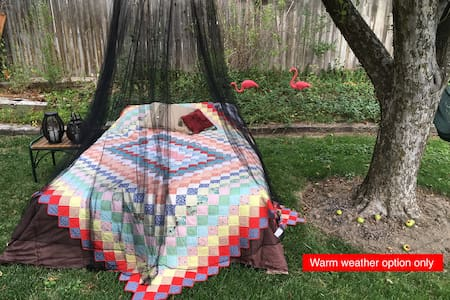 Quiet Private Apartment w/ Summer Glamping Option - Appartement