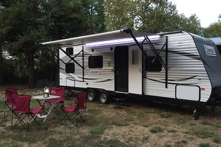 Country Glamping, Horses and Wine - Junction City - Camping-car/caravane