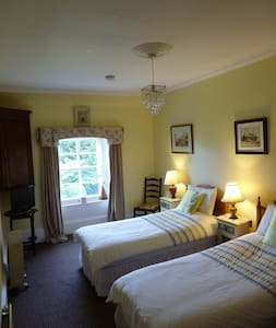 Twin (with breakfast)Or Room Only. Hillowton House - Bed & Breakfast