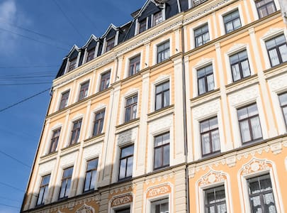 Fresh two-bedroom apart in the very center of Riga - Appartamento