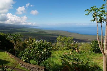1200 feet above Kealakekua Bay, South Kona - Captain Cook - Bed & Breakfast